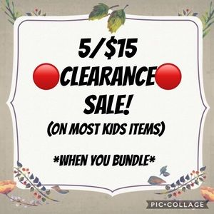 Other - 5/$15 🔴CLEARANCE🔴 SALE!!
